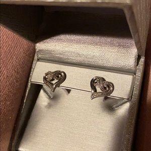 Zales Heart Earrings